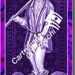 Carta del mazzo dei tarocchi Il Matto