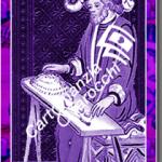 Carta dei tarocchi Il Bagatto