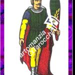 10 Bastoni del mazzo delle carte napoletane