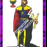 10 di Coppe del mazzo delle carte napoletane