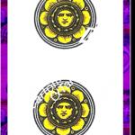 2 di Denari del mazzo delle carte napoletane