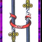 2 Spade del mazzo delle carte napoletane