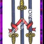 3 Spade del mazzo delle carte napoletane