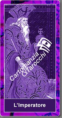 carta dei tarocchi L'Imperatore