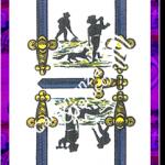 5 Spade del mazzo delle carte napoletane