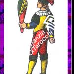 8 Bastoni del mazzo delle carte napoletane