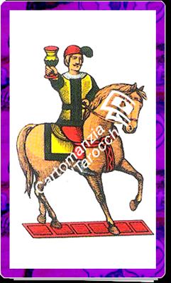 9 di Coppe del mazzo delle carte napoletane