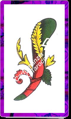 Asso Bastoni delle carte napoletane