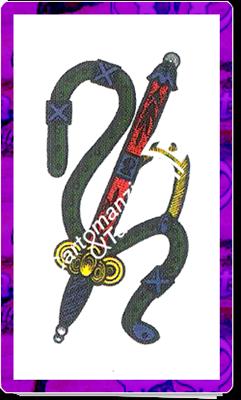 Asso Spade delle carte napoletane