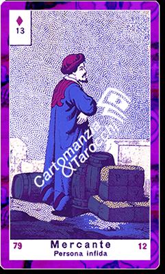 carta delle sibille Mercante